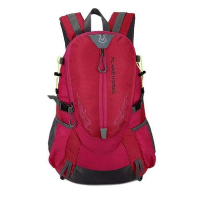 Waterproof Hiking Backpack Collection - Red - waterproof-hiking-backpack