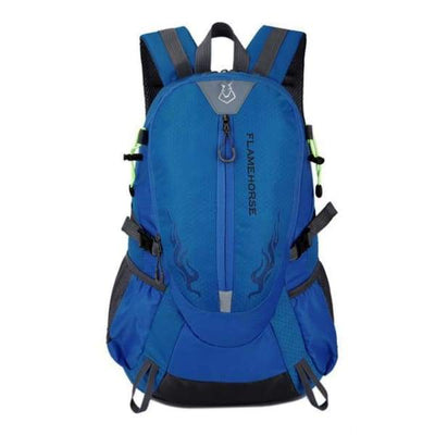 Waterproof Hiking Backpack Collection - Sky Blue - waterproof-hiking-backpack