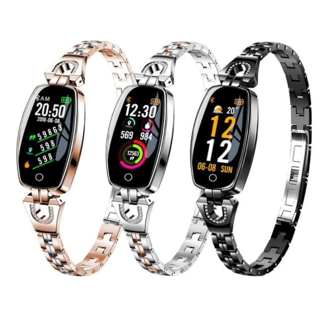 Womens Fashion Smartwatch Fitness Bracelet - Smart Watches - womens-fashion-smartwatch-fitness-bracelet