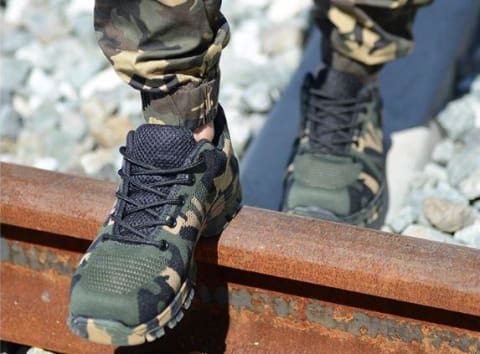 Indestructible Bulletproof Protection Shoes