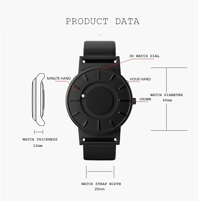 LUXURY MAGNETIC WATCH