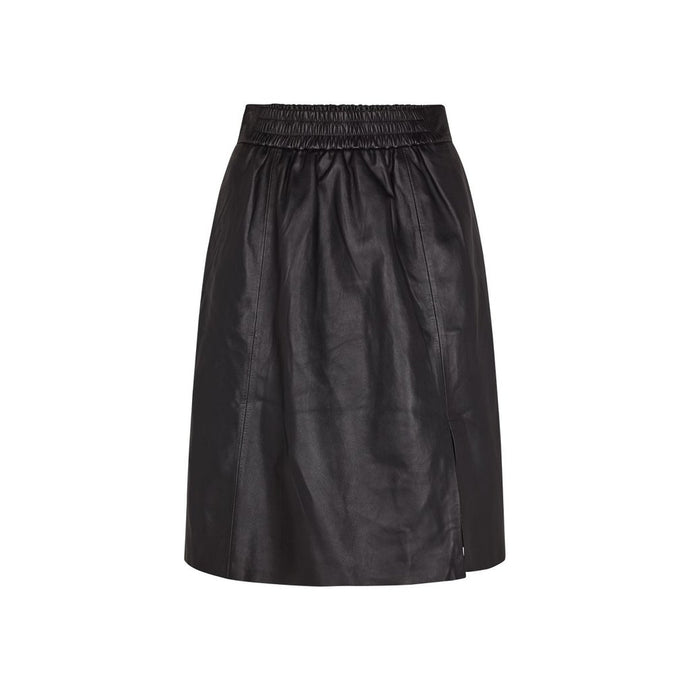 Melvin Leather Skirt