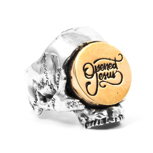 Opened Jesus Signature Ring
