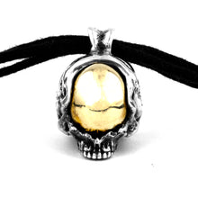 Space skull necklace (large)
