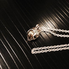 Space Skull Necklace (small)