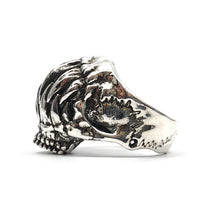 Monster Teeth Skull Ring