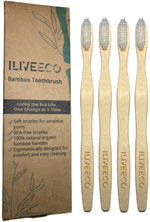 Organic Bamboo Toothbrush with Soft-Bristles