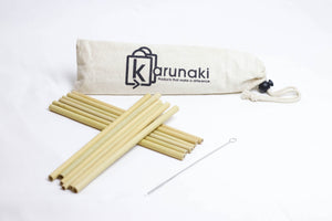 Handcrafted Bamboo Straws: Assembled in Canada, Tested for Microbial Growth