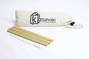 I LIVE ECO Handcrafted Bamboo Straws: Assembled in Canada, Tested for Microbial Growth