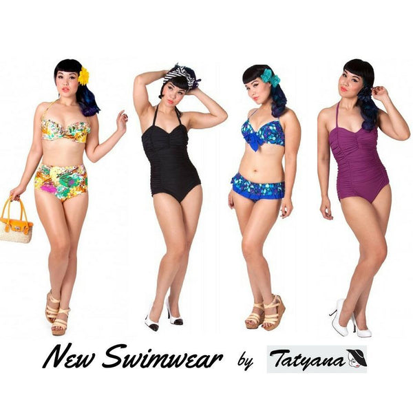 New vintage inspired swimwear in-store now,