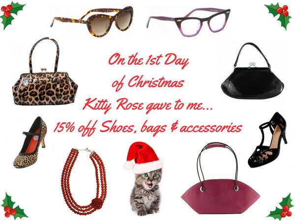 Kitty Rose Christmas Sale, a new sale announced each day!