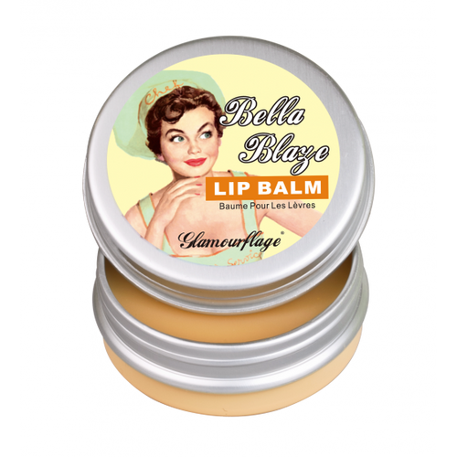 Glamourflage Bella Blaze Lip Balm (Honey Lemon)