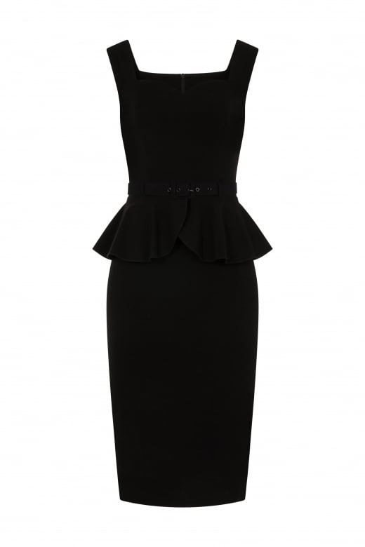 Mae Peplum Pencil Dress