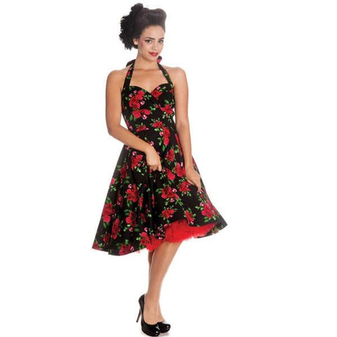 Tracey Mae Red Roses Top