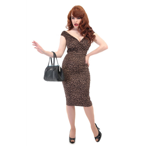 Winnie Leopard Dress