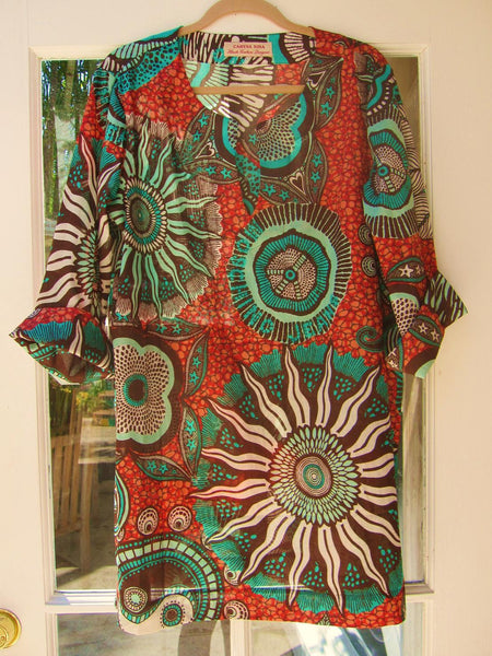 Classic Tunic in cotton prints