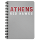 Athens Spiral Notebook