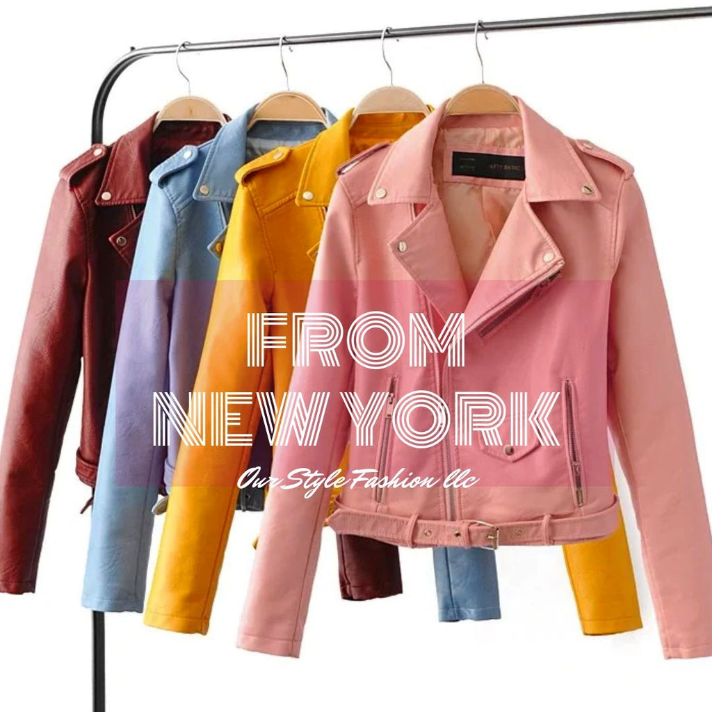 Jacket Leather. 5 non-traditional colors. How to use them?