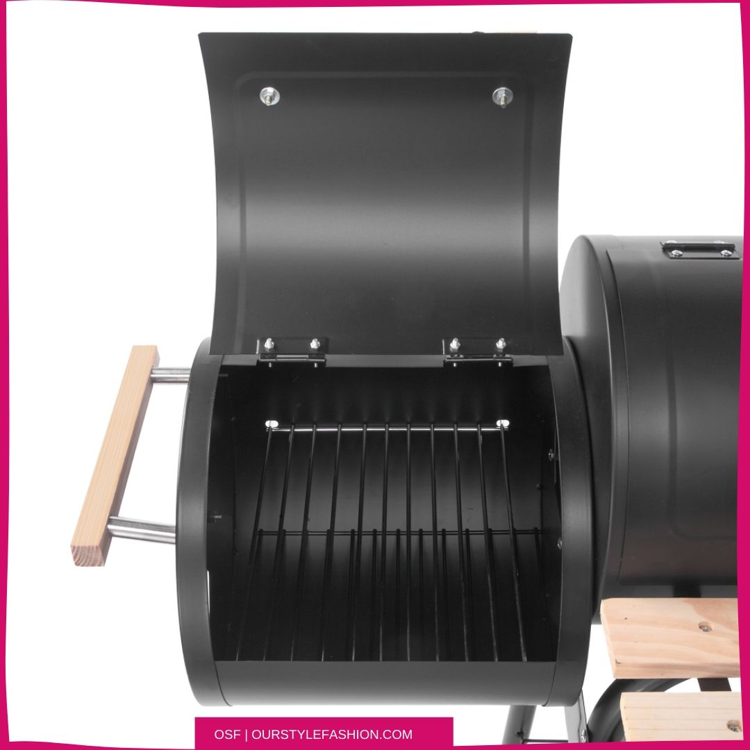 ZOKOP Portable Steel Charcoal BBQ