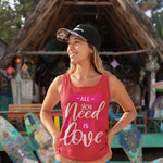 Load image into Gallery viewer, 'All you need is Love' Unisex Tank Top