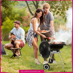Load image into Gallery viewer, Zokop 18'' Charcoal Grill/Stove for Patio, Picnic, Backyard