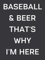 Load image into Gallery viewer, Baseball & Beer T-Shirt