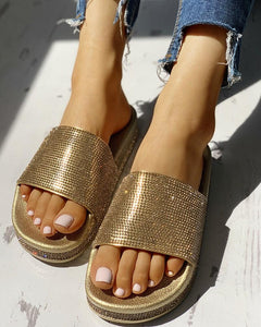 Fashion Gold/Silver Sandals