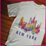 Load image into Gallery viewer, NY Silhouette Colors short sleeve T-Shirt S-3XL