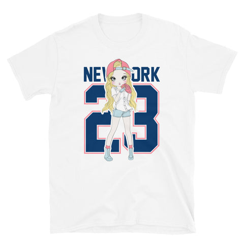 New York 23 Baseball T-Shirt