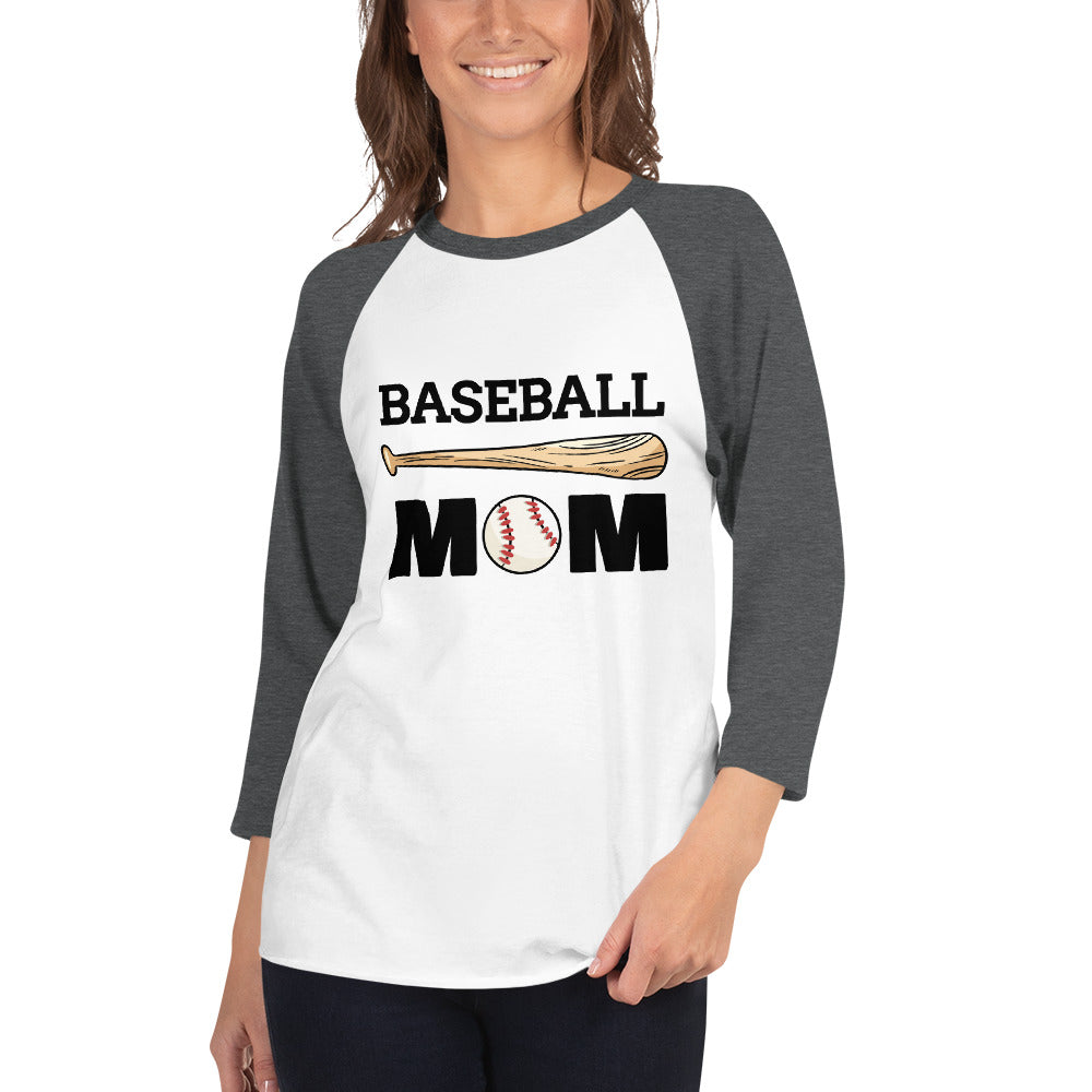 Baseball Mamas 3/4 Sleeve