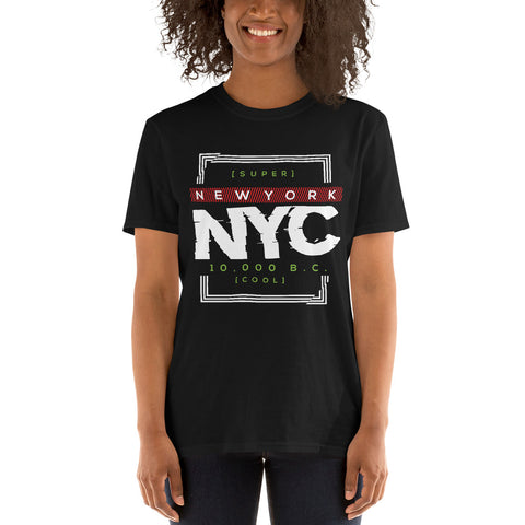 10,000 BC NYC Cool Short-Sleeve T-Shirt