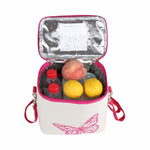 Load image into Gallery viewer, Portable Insulated Cotton Linen lunch Thermal Food