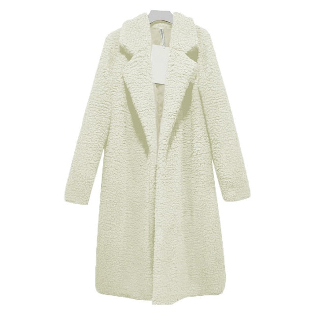 Autumn/Winter Women 2020 Woolen Coat Plus