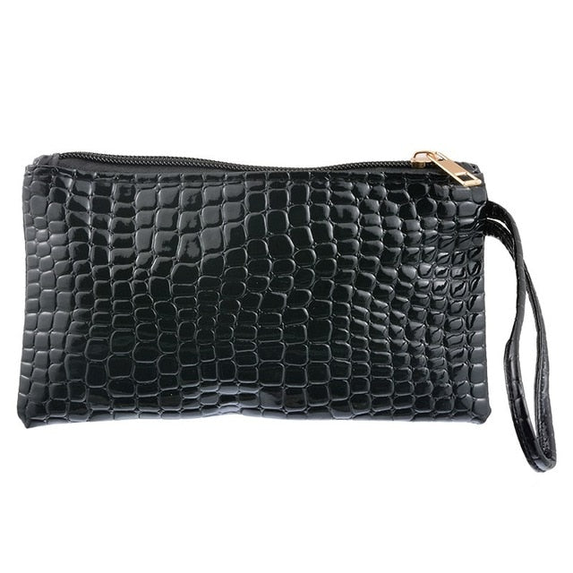 Simil Crocodile PU Leather Wallet