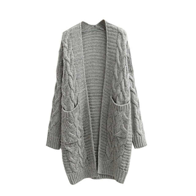 Knitted Cardigan Winter