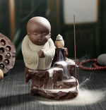 Load image into Gallery viewer, The Little Monk or Small Buddha Incense Burner