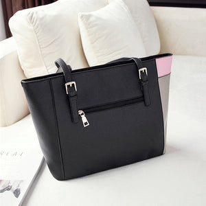 Women Large Tote Bag PU Leather