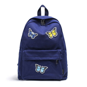 School Bags Butterflies Decoration