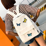 Load image into Gallery viewer, School Bags Butterflies Decoration