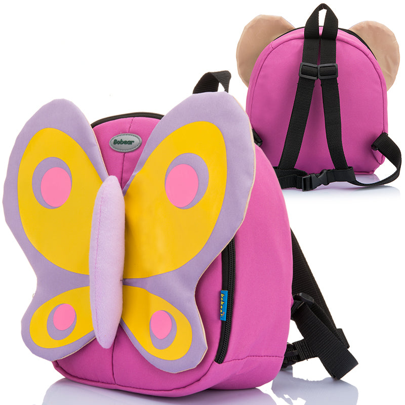 Cartoon Kids butterfly Backpack School Bag