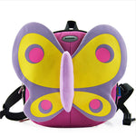 Load image into Gallery viewer, Cartoon Kids butterfly Backpack School Bag