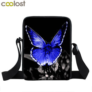 Messenger Bag for Women Designer Butterfly Printing