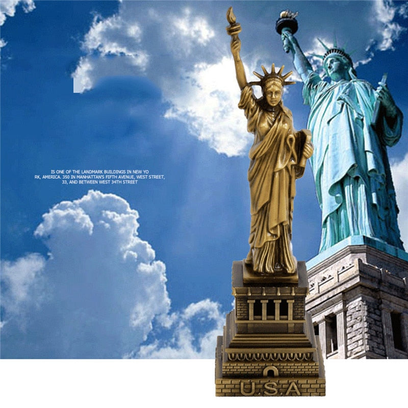 Bronze Statue of Liberty Replica