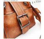 Load image into Gallery viewer, Leather Handbags Crossbody