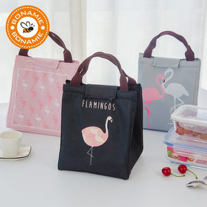 Flamingo Tote Thermal Bag