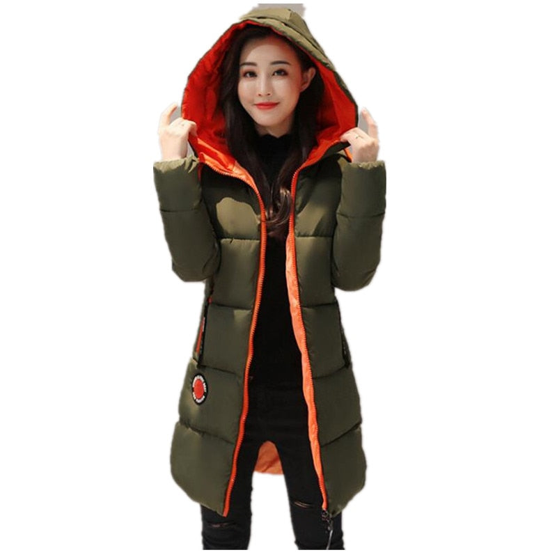 2020 Winter jacket  Women Snow Wear