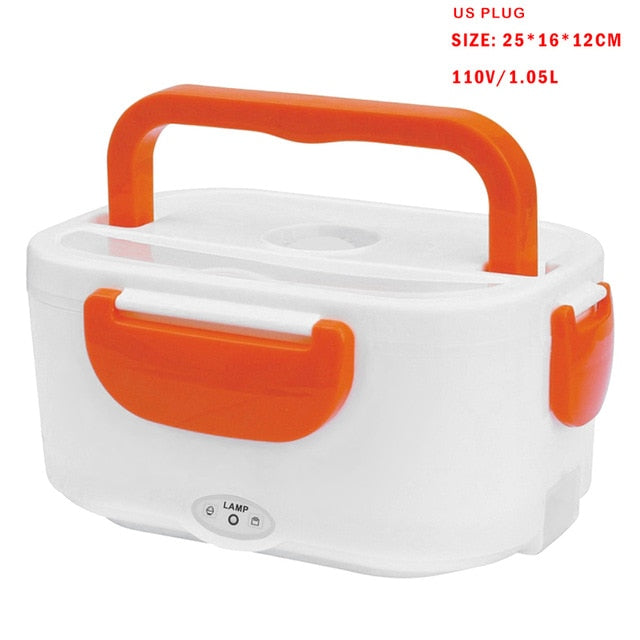 Portable Self-Heating Lunch Box