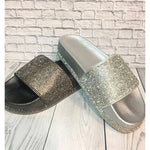 Load image into Gallery viewer, Fashion Gold/Silver Sandals