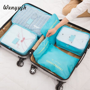 Packing Cubes 6-Pcs Travel Organizer Accessories