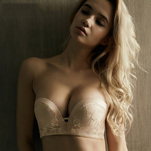 Invisible Bra Strapless 1/2 Cup